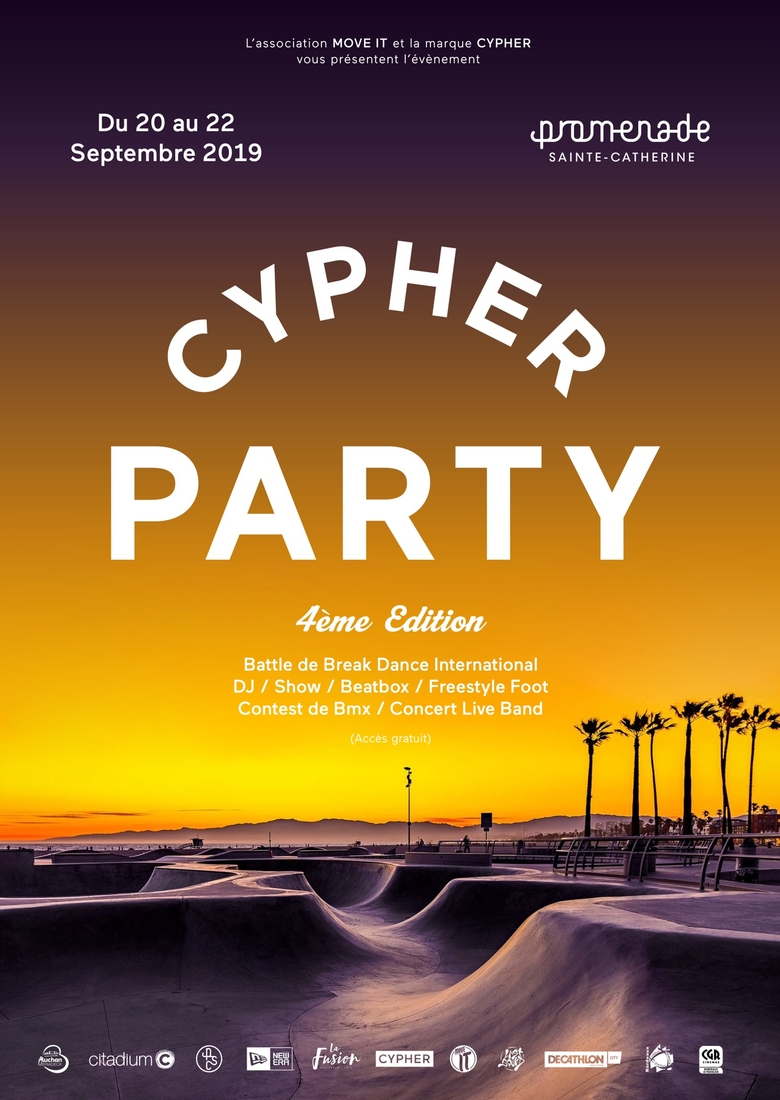 affichecypher party